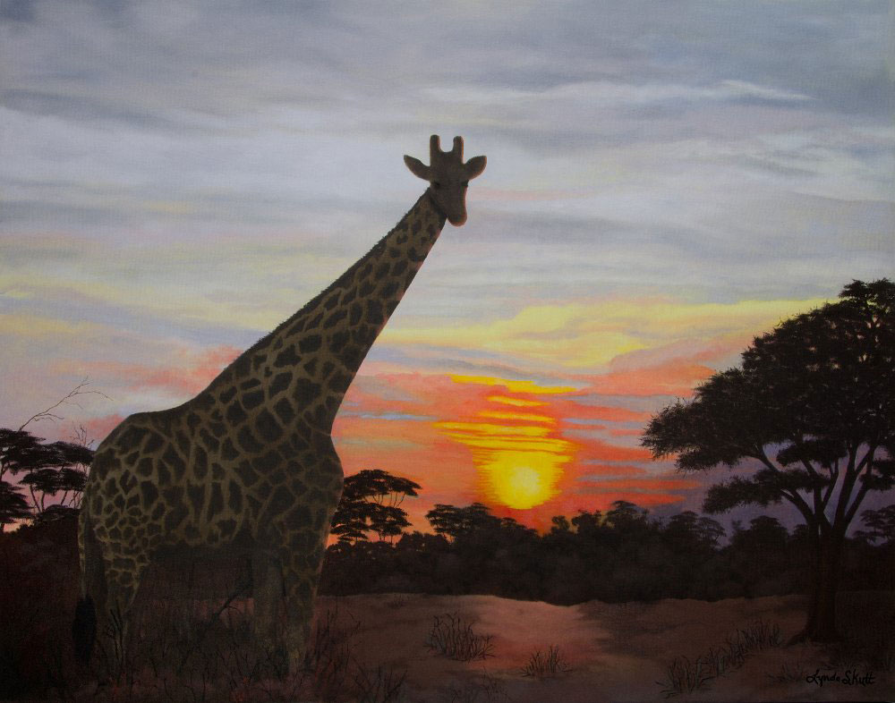 Frank's African Sunset