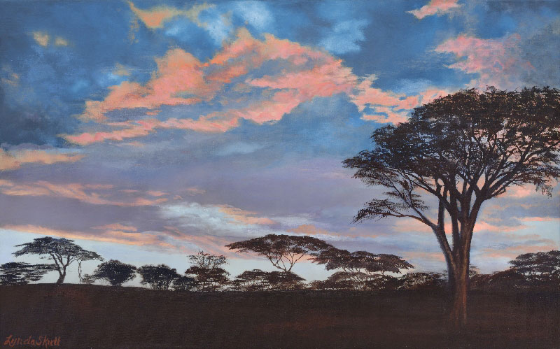 Sunrise At Ndutu